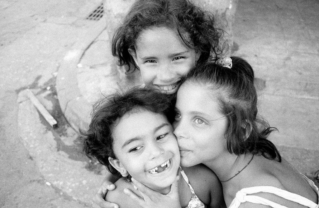 Niñas en La Habana