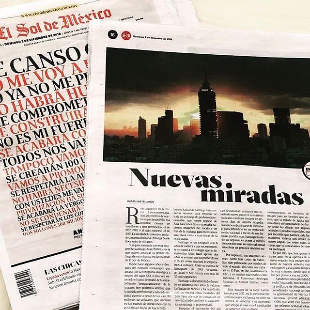 Hoy arranca la nueva temporada de mi columna sobre imagen en el renovado Sol de México  #EnLaMira #Foto